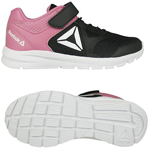 Reebok Rush Runner ALT, Zapatillas de Trail Running Unisex niño, Multicolor (Black/Pink 000), 33 EU