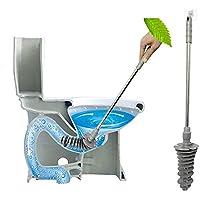 ラバーカップ トイレ掃除 すっぽん パイプクリーナー ぴーぴースルー トイレカバー トイレ つまり 解消 洋式トイレに適応 業務用 掃除用品 粘着フック付き グレー