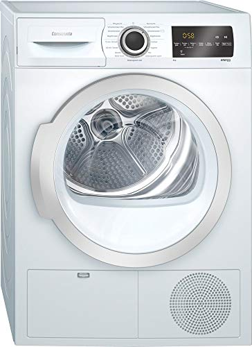 CONSTRUCTA CWK6G401 Wäschetrockner 8 kg Auto Dry Soft Dry Touch Control EEK: B