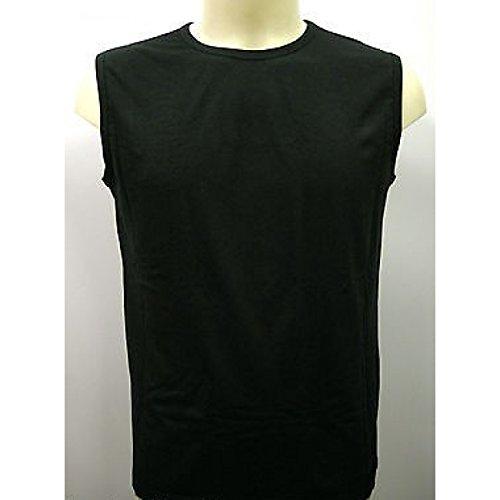 Sin mangas TANK TOP camiseta TANK TOP masculino hombre PARAH N283 0211 t. 6 negro