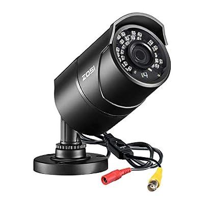 ZOSI 2.0MP HD 1080P 1920TVL Hybrid 4-in-1 TVI/CVI/AHD/CVBS Indoor Outdoor Home Security Cameras Weatherproof