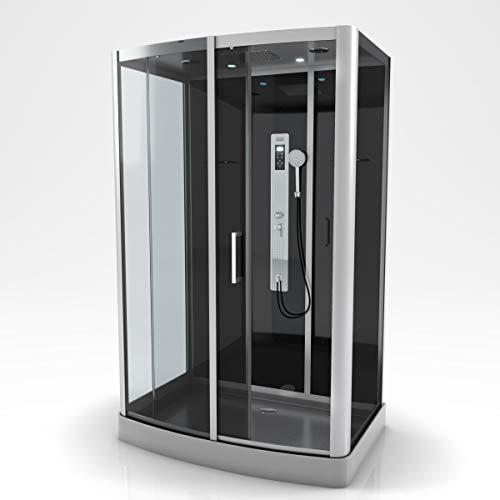 Cabine de douche rectangle 140x85x215cm - PRIMUS XXL