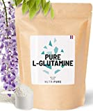 L-Glutamine Kyowa® végétale 100% pure • Acide aminé idéal pour récupération sportive & intestin • Excellente assimilation • Goût naturel • sans édulcolorant ni OGM • 1 Mois • Sachet 150G • NUTRIPURE