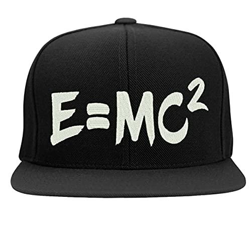 Boné Bordado E=MC2 Albert Einstein Teoria Da Relatividade