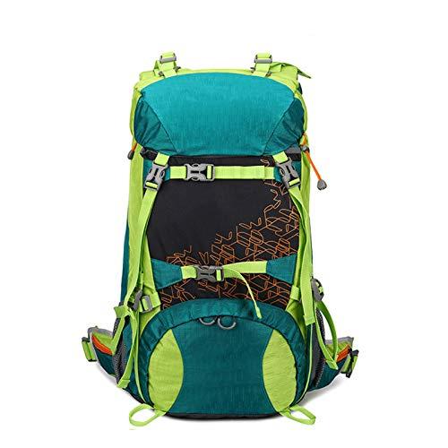 ZHANGZHIYUA Zaino 36~55L, Ideale per Sport all'Aria Aperta, Escursionismo, Trekking, Campeggio, Alpinismo, Borsa da Alpinismo Impermeabile, Zaini da Arrampicata da Viaggio,C
