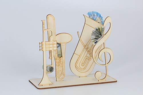 Geldgeschenk, Instrumente, Musik