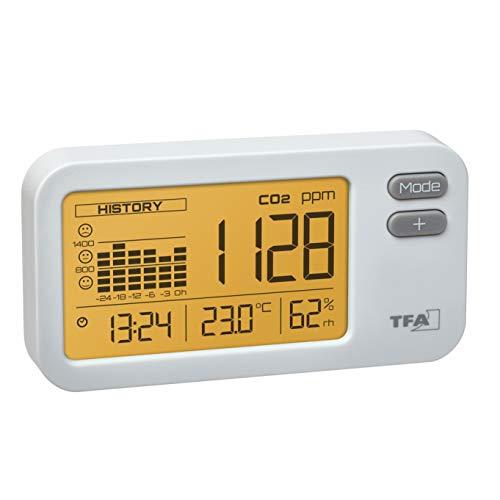 TFA Dostmann 31.5009.02 AIRCO2NTROL Coach CO2 Monitor, L145 x B35 x H100 mm