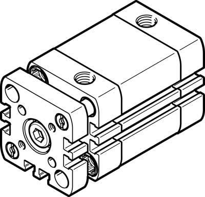 Festo 2159642/modelo crdsnu-b-25/ /125-pps-a-m est/ándar Cilindro