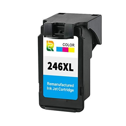 Cartuchos de tinta PG245XL CL246XL para impresora de inyección de tinta de repuesto para Canon MX492 MG2520s 2522 2920 2922 de alto rendimiento compatible con color y negro