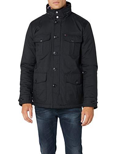 Tommy Jeans Alan AF, Abrigo para Hombre, Gris (CHARCOAL 024), XX-Large