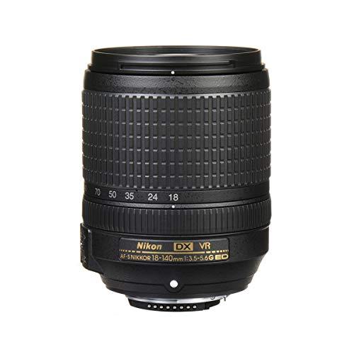Nikon AF-S DX 18-140 mm 1:3,5-5,6G ED VR Reisezoom-Objektiv (67 mm Filtergewinde, bildstabilisiert) Schwarz