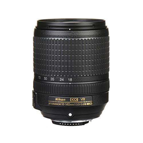 Lente DX 18-140mm F/3.5-5.6G ED VR, Nikon 123506, Preto