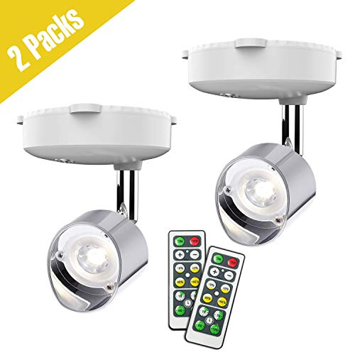 Wireless Spotlight, Battery Operated Accent Lights Art Lights for Paintings Mini Led Picture Light...