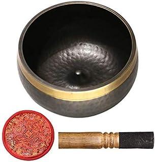 ZOUJUN Nepalese Handmade Bowl Buddhism Yoga Meditation Healing Bowl Hand-forged Buddhist Practice Meditation Buddhist Soun...