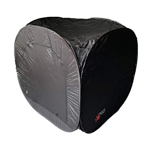 Pop-Up-Zelt, dunkle Höhle, 120 cm, quadratisch