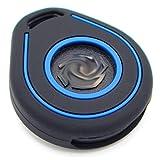 Funda para Llave de Moto HAB de Silicona, Keyless Go Negro Azul