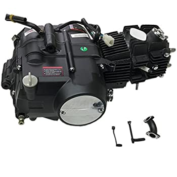 X-PRO 125cc 4 stroke Pit Dirt Bikes Engine Motor w/Manual Transmission Kick Start