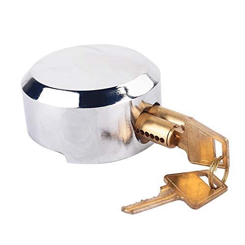1 / 2pcs x Garage Shed Door Security Vorhängeschloss 2 / 4x Schlüssel, Tür Sicherheit Vorhängeschloss Hasp Set Schloss 73mm Stahl Vorhängeschloss für Garagentor