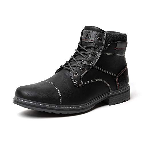 Mishansha Men's Hiking Ankle Boots Climbing Non-Slip Water Resistant Women's Trekking Shoes Walking Non-Slip Black 8 Women/6.5 Men