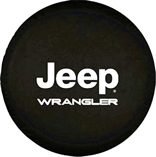 """Spare Tire Cover Pvc Leather Waterproof Dust-Proof Universal Spare Wheel Tire Cover For Compatible Jeep Wrangler 16""""(16"""" For Diameter 29""""-31"""")"""