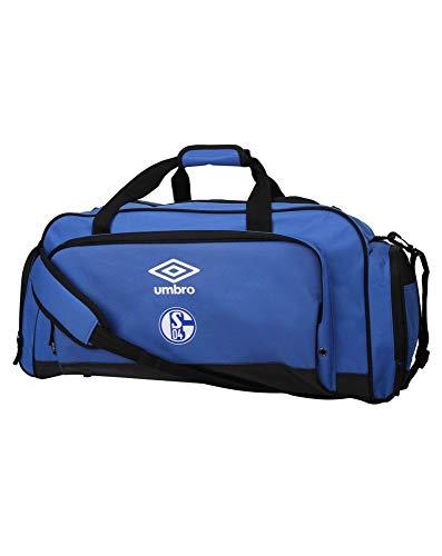 UMBRO FC Schalke 04 Small Holdall Sporttasche 20/21 blau weiß