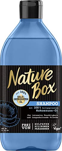 Nature Box Shampoo Kokosnuss-Öl, 3er Pack (3 x 385 ml)