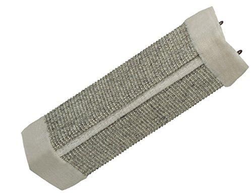Nobby Kratzecke mit Plüsch grau 49 x 22 cm