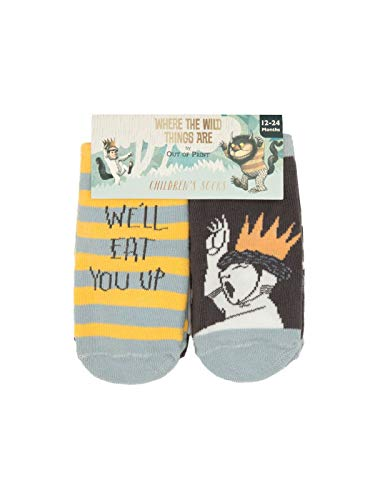 Where the Wild Things Are Socks 2T-3T 4-pack