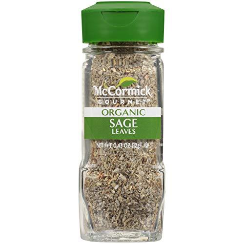 McCormick Gourmet Organic Sage Leaves, 0.43 oz