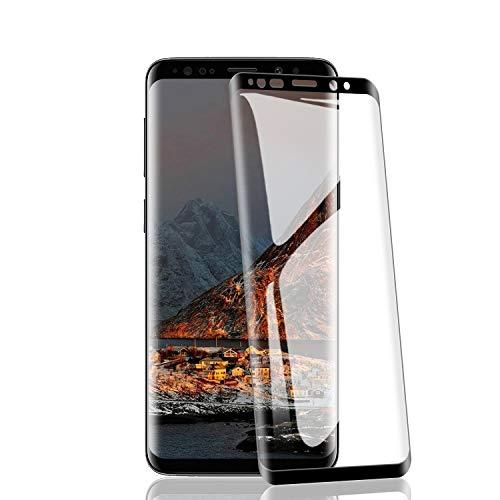 RIIMUHIR Lot de 2 Films de Protection d'écran en Verre blindé pour Samsung Galaxy S9 9H, Anti-Rayures HD …