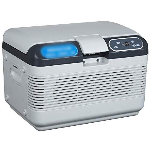 Enfriador y calentador eléctrico para automóvil de 12 l Enfriador / calentador eléctrico portátil para oficina, dormitorio universitario, dormitorio y apartamento, refrigerador de compresor pequeño