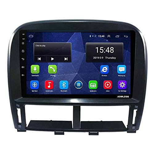 WY-CAR Radio Estéreo para Coche con Navegación para Coche Android 8.1 para Lexus LS430 2003-2007, Pantalla Táctil HD 2.5D De 9 Pulgadas, FM/RDS/GPS/Bluetooth/SWC/Mirror Link/Cámara De Visión Trasera