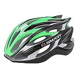 JM- Erwachsener Reithelm Mountainbike Rennrad Sicherheitsschutz ultraleichter Helm Integrierter, Verstellbarer Schultergurt (Color : I)