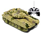 Full Functional Remote Control Tank: Forward, Backward, Right and Left 360 Degree Movement of Tank's missile gun. Buy 2 tanks for epic shooting game Recharge the battery atleast above 60 min for 1st time use - the maximum recharge time of the battery...
