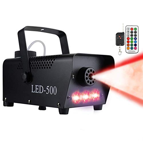 Anpro Fog Machine,500W Party Smoke Machine with LED Lights Effect for...