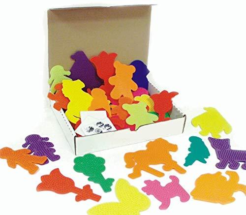 Color Splash! Fuse Bead Pegboard Assortment (Pack of 36)