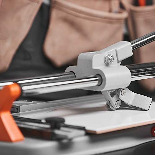 Manual Tile Cutter in Use