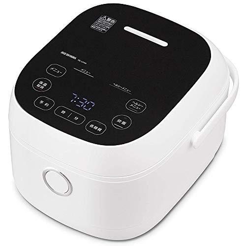 アイリスオーヤマ IH炊飯器 5.5合 糖質カット機能 低糖質炊飯 玄米 もち麦 充実のヘルシーメニュー IH式 ヘルシーサポート炊飯器 ホワイト RC-IJH50-W