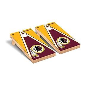 Washington Redskins NFL Football Regulation Cornhole Game Set Triangle Version