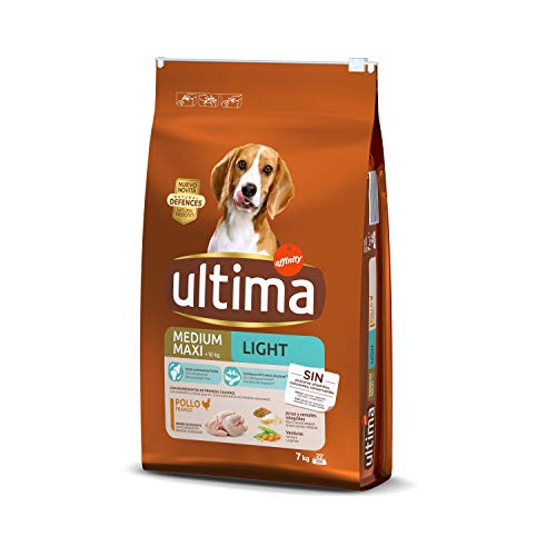 ultima Pienso para Perros Medium-Maxi Light con Pollo - 7 kg