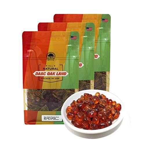 DOL Natural Wild Peach Gum Edible Peach Blossom Tears Tao Jiao Peach resin 滋補抗皺 桃膠 food additives free 3 LB