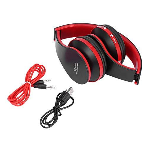 Bubbry Opvouwbare draadloze stereo-headset microfoon voor iPhone mobiele telefoon PC laptop