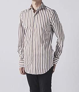 Finamore(フィナモレ) シャツ メンズ TOKIO ストライプシャツ SIMONE-044931 [並行輸入品]