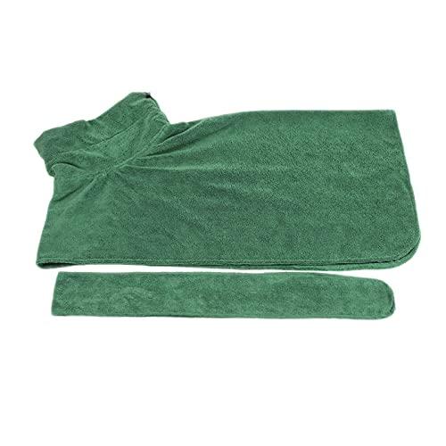 Albornoz para perro Toalla de secado Microfibra Toalla de baño de agua de rápida absorción Toalla de baño para gatos y mascotas Aseo Producto para mascotas Toalla de baño para mascotas de secado rápid