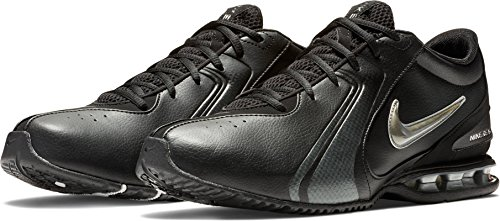 Nike Men's Reax Trainer III Synthetic Leather Training Shoe Black/Newsprint Size 15 M US