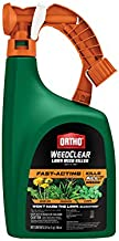 Ortho WeedClear Lawn Weed Killer Ready-to-Spray - Fast-Acting, Kills Dandelion, Crabgrass and Clover to the Root, Won't Harm Lawn When Used as Directed, 32 oz.
