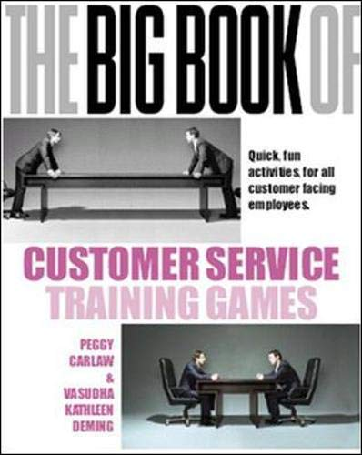 Carlaw, P: Big Book of Customer Service Training Games (Management & Leadership)