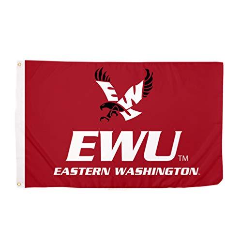 Desert Cactus Eastern Washington University EWU Eagles 100% Polyester Indoor Outdoor 3 feet x 5 feet Flag
