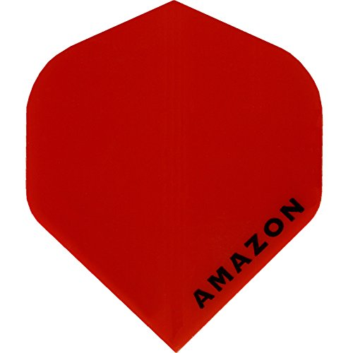 Dart Flights – Designa Amazon – 100 Mikron – STD – Rot – 10 Sets (30)
