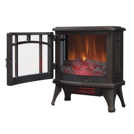 Duraflame Infrared Quartz Fireplace Stove, Bronze